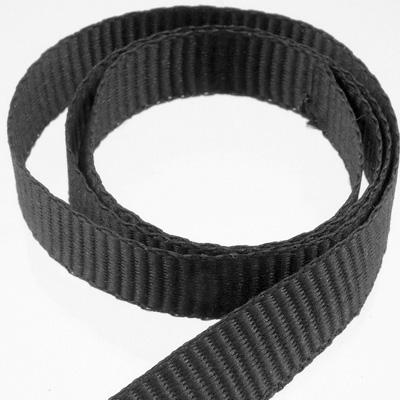 PES-Ripsband 10 mm schwarz