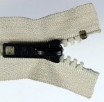 Anfangsteil RT10 Messing-Antik an Spritzgussgliederreißverschluss Delrin 6