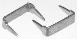 Reißverschluss-Endteile RT25 U-Form Edelstahl