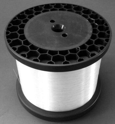 Monofilament-Transparentgarn Ø 0,5 mm, natur á 12.100 m