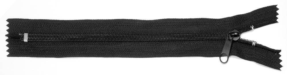 RV Spirale Nr.10, nonlock, 24 cm, schwarz