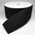 Velcro tape (hook side) with weldable back, 10 cm width