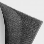 Velcro (hook side) with weldable back, close-up