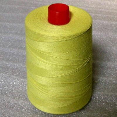 Kevlar spun yarn No.50, raw yellow