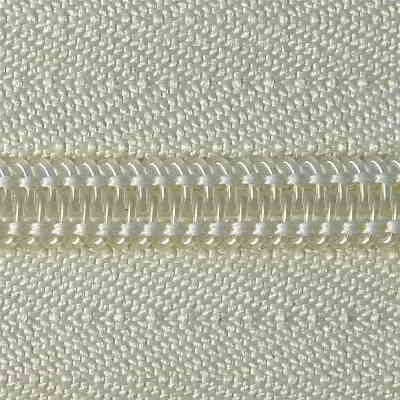 Spiral zipper