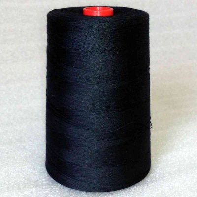Core spun yarn PES/CO Cottoria F50 á 5,000 m, black