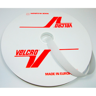 Velcro Pilzband 16mm weiß