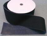 Klettband (Hakenseite) mit heißluft-schweißbarer Rückseite
