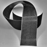Klettband (Hakenseite) mit schweißbarer Rückseite