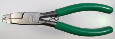 Professionelle Osborne-Zange für Reißverschluss-Anfangsteile