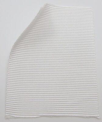 Polypropylen-Gurtband, 1,35 mm dick, 100 mm breit, weiß