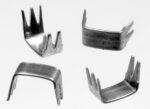 Reißverschluss-Endteile 6 mm U-Form Aluminium 5-Zacken