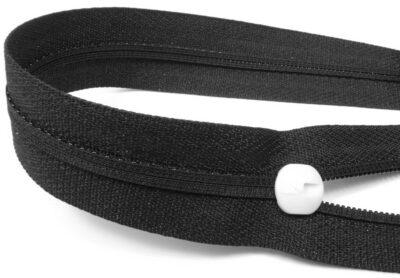 Reißverschluss Spirale endlos Mäander L-Type-Zipper