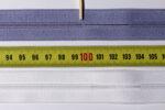 S0 Endlos-Reißverschlussketten: Lücke am Ende der 100 cm