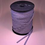 S0 Endlos-Reißverschluss-Rolle á 300 m, grau TA272, mit Lücken je 100 cm, defekter Rollendeckel