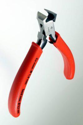 Vornschneider-Zange, einseitig flach